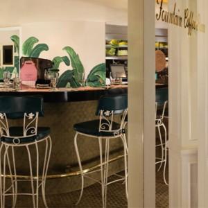 Fountain coffee room - beverly hills hotel - luxury los angeles honeymoon packages
