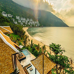 InterContinental Danang Sun Peninsula Resort - Vietnam honeymoon - thumbnail