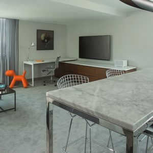 Los Angeles Honeymoon Packages Andaz West Hollywood ADA King Suite 2