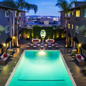 Los Angeles Honeymoon Packages Grafton Sunset Hollywood Thumbnail