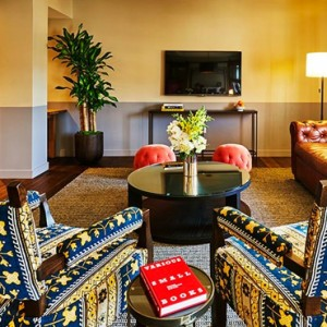 Los Angeles Honeymoon Packages Hollywood Roosevelt Hotel Roosevelt Suite 2