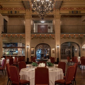 Los Angeles Honeymoon Packages Hollywood Roosevelt Hotel Dining