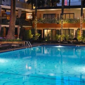 Los Angeles Honeymoon Packages Hollywood Roosevelt Hotel Pool