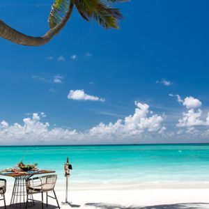 Luxury Maldives Holiday Packages Kandima Maldives Dining On The Beach