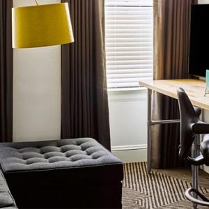 Luxury San Francisco Honeymoon Packages Hotel Zeppelin San Francisco King Suite