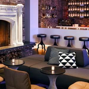 Luxury San Francisco Honeymoon Packages Hotel Zeppelin San Francisco The Mantel Bar