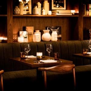 Luxury San Francisco Honeymoon Packages Hotel Zeppelin San Francisco Dining 4