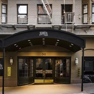Luxury San Francisco Honeymoon Packages Hotel Zeppelin San Francisco Exterior