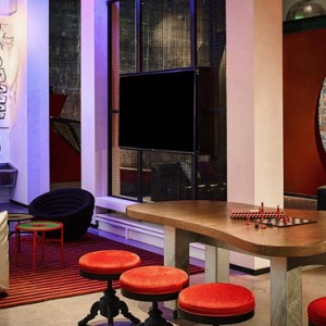 Luxury San Francisco Honeymoon Packages Hotel Zeppelin San Francisco Game Room 3