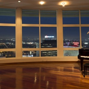 Panorama suite - Loews Hollywood Hotel - luxury los angeles honeymoon packages