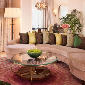 Premier Suite - beverly hills hotel - luxury los angeles honeymoon packages