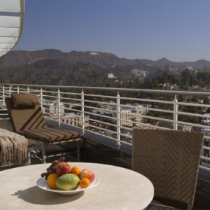 Producers Suite - Loews Hollywood Hotel - luxury los angeles honeymoon packages