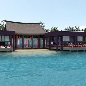 Sea Dragon and Forbidden Bar - Luxury Maldives Honeymoons - Kandima Island Resort
