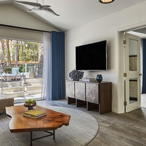 Signature Bungalow 2 - Fairmont Miramar Hotel and Bungalows - luxury los angeles honeymoon packages
