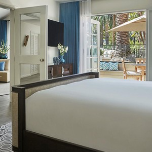 Signature Bungalow 3 - Fairmont Miramar Hotel and Bungalows - luxury los angeles honeymoon packages