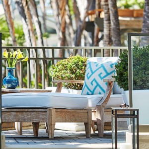Signature Bungalow 4 - Fairmont Miramar Hotel and Bungalows - luxury los angeles honeymoon packages