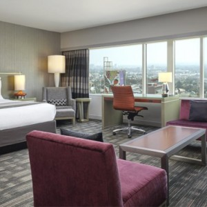Studio King Suite 2 - Loews Hollywood Hotel - luxury los angeles honeymoon packages
