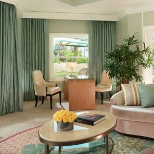 Sunset Suite - beverly hills hotel - luxury los angeles honeymoon packages