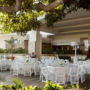 banquet - Fairmont Miramar Hotel and Bungalows - luxury los angeles honeymoon packages