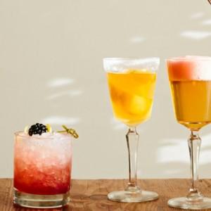 cocktail - Kimpton canary Hotel Santa Barbra - Luxury Los Angeles Honeymoon Packages
