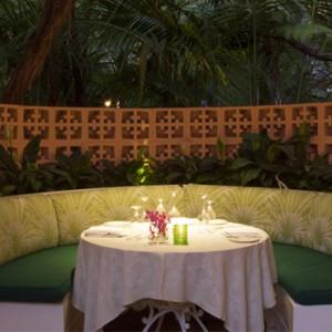 dining 2 - beverly hills hotel - luxury los angeles honeymoon packages
