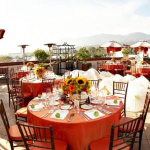 dining 3 - Kimpton canary Hotel Santa Barbra - Luxury Los Angeles Honeymoon Packages