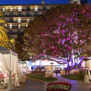 dining - Fairmont Miramar Hotel and Bungalows - luxury los angeles honeymoon packages