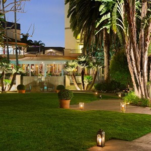 exterior 2 - Fairmont Miramar Hotel and Bungalows - luxury los angeles honeymoon packages