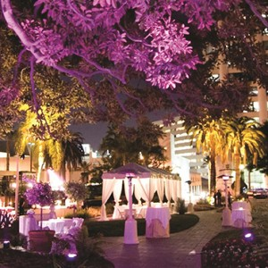 exterior 4 - Fairmont Miramar Hotel and Bungalows - luxury los angeles honeymoon packages