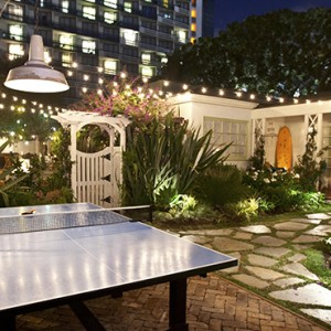 exterior - Fairmont Miramar Hotel and Bungalows - luxury los angeles honeymoon packages