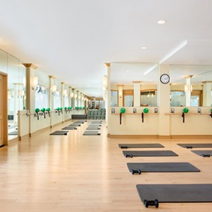 gym 2 - Fairmont Miramar Hotel and Bungalows - luxury los angeles honeymoon packages