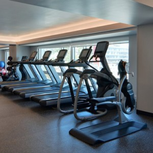 gym 2 - Loews Hollywood Hotel - luxury los angeles honeymoon packages