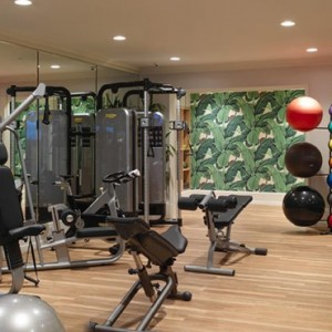 gym - beverly hills hotel - luxury los angeles honeymoon packages
