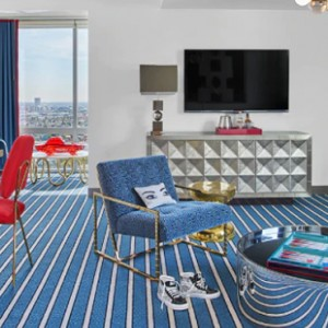 Los Angeles Honeymoon Packages Andaz West Hollywood Andaz Red Suite 3