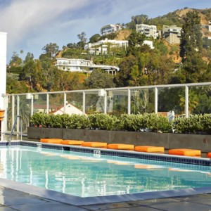 Los Angeles Honeymoon Packages Andaz West Hollywood The Sundeck