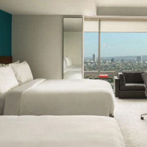 Los Angeles Honeymoon Packages Andaz West Hollywood View King Room 2
