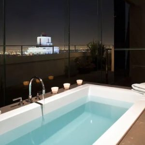 Los Angeles Honeymoon Packages Andaz West Hollywood Bathtub