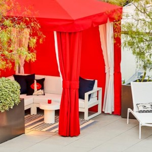 Los Angeles Honeymoon Packages Andaz West Hollywood Cabana