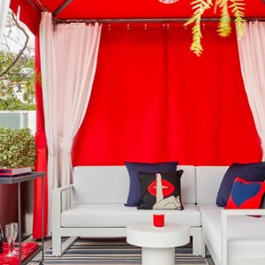 Los Angeles Honeymoon Packages Andaz West Hollywood Cabana 3