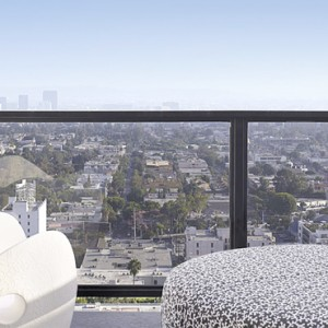 Los Angeles Honeymoon Packages Mondrian Los Angeles Balcony Suite