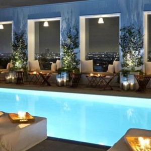 Los Angeles Honeymoon Packages Mondrian Los Angeles Pool