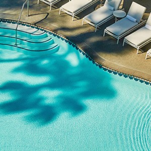 pool 2 - Fairmont Miramar Hotel and Bungalows - luxury los angeles honeymoon packages