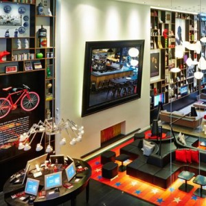 Lobby - CitizenM New York Times Square Hotel - Luxury New York Honeymoon Packages