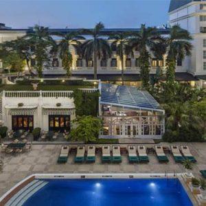 Sofitel Legend Metropole Hanoi Vietnam Honeymoon Aerial View