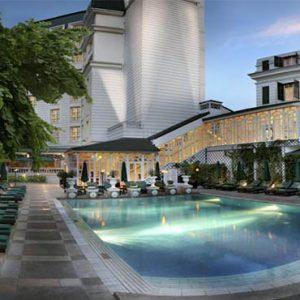Sofitel Legend Metropole Hanoi Vietnam Honeymoon Pool