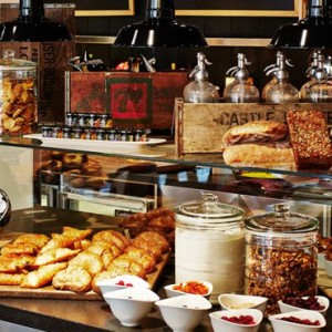 dining - CitizenM New York Times Square Hotel - Luxury New York Honeymoon Packages