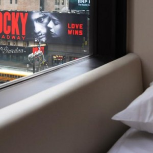 king size room 2 - CitizenM New York Times Square Hotel - Luxury New York Honeymoon Packages