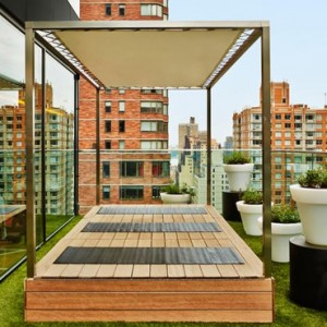 rooftop 3 - CitizenM New York Times Square Hotel - Luxury New York Honeymoon Packages