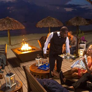 Jamaica Honeymoon Packages Sandals Negril Fire Pit