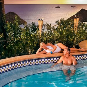 Jamaica Honeymoon Packages Sandals Negril Pool Bar 2